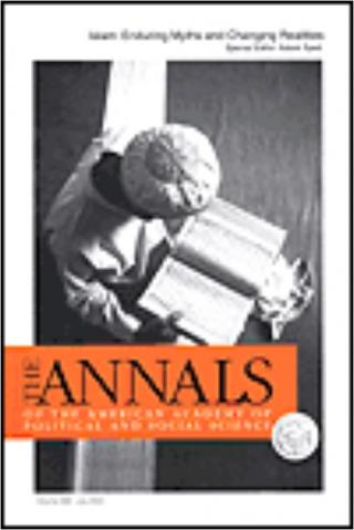 """The Annals of the American Academy of Political and Social Science"" cover image"