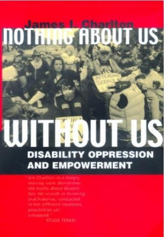Nothing about us without us cover image
