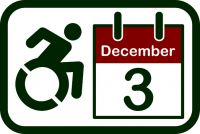 International Day of Persons with Disabilities icon