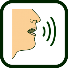 Voice production technologies icon