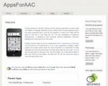 AppsForAAC website image