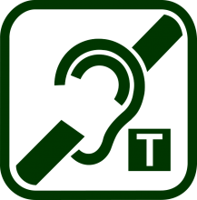 Induction loop device icon
