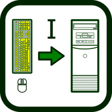Input devices icon