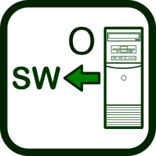 Output software icon