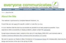 """everyone communicates"" website"