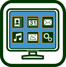 Easy user interface icon