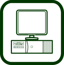 Computers and terminals icon