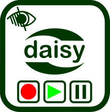 Daisy recording and playing devices icon
