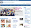 National Institute on Deafness and Other Communication Disorders website image