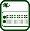 Braille display icon